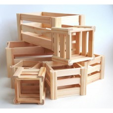 Wooden box decoration